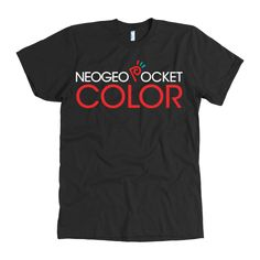 Neo Geo Pocket Color: Celebrate the fan-favorite handheld system, preferable while playing SNK Vs. Capcom: The Match of the Millennium!  Neo Geo Pocket Color T-Shirt #Classic #Gaming #video #games #neogeo #tech #geek #gifts