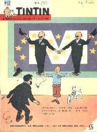 """Journal de TINTIN édition Belge N° 42 du 20 Octobre 1960 - Décidément, la brigade """"M"""" est la brigade des as!..."""