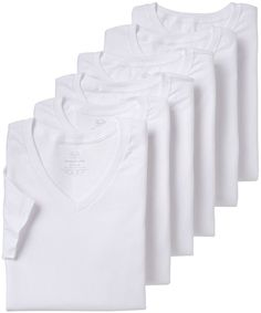 The unsung hero of the modern age. Choose the Men's Fruit of the Loom Signature Super Soft V-Neck Tee for yours. V Neck Tee, Crew Neck, Tall Guys, Mens Tee Shirts, White V Necks, Big & Tall, Fruit Of The Loom, Cotton, Clothes