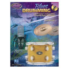 "Hal Leonard """"Blues Drumming"""" Book and CD"