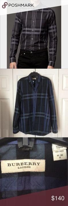 d8e2663b1 ⭐️Authentic Burberry Mens Long sleeve Shirt Authentic Burberry shirt in  great condition. No damage