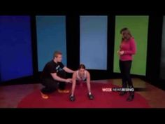 Workout in your own home with this video! Let Devan Kline help you drop those holiday pounds. #Exercise