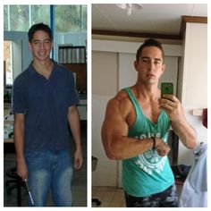 Before and After Body Transformation. www.FITQUOX.com #body #transformation