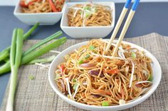 Spicy Veg Noodles