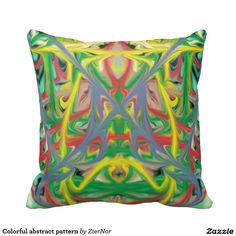 Rest your head on one of Zazzle's Abstract decorative & custom throw pillows. Colorful Pillows, Decorative Throw Pillows, Photo Pillows, Iphone 6 Cases, Iphone Models, Abstract Pattern, Unique, Design, Decorative Pillows