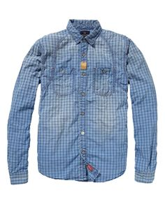Constructed Work Wear Shirt - Scotch & Soda