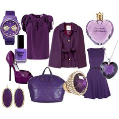 kind of love purple clothes