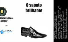 O sapato brilhante