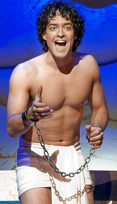 Lee Mead in  'Joseph and the Amazing Technicolor Dreamcoat'