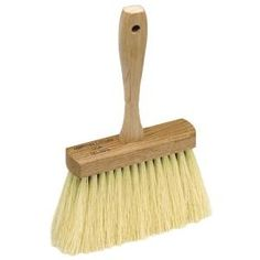 MARSHALLTOWN The Premier Line 829 by Masonry Brush: Bristles made of white tampico fiber, trimmed and set securely in hardwood block, with hanging hole.
