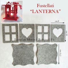 Discover recipes, home ideas, style inspiration and other ideas to try. Christmas Lanterns, Felt Christmas, Christmas Crafts, Christmas Decorations, Christmas Ornaments, Foam Crafts, Easy Crafts, Diy And Crafts, Crafts For Kids