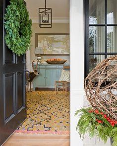 Katie Rosenfeld Design - Rachel Reider Interiors - entry light