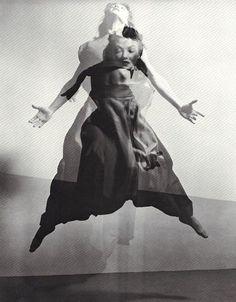 Barbara Morgan - Valerie Bettis in The Desparate Heart, 1944. Photomontage II … from Barbara Morgan, edited - designed by Barbara Morgan, A Morgan & Morgan Monograph, 1972.