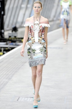 Ma Cherie, Dior: Mary Katrantzou, RTW Spring 2011 - Something Completely Different
