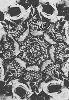 skull kaleidoscope