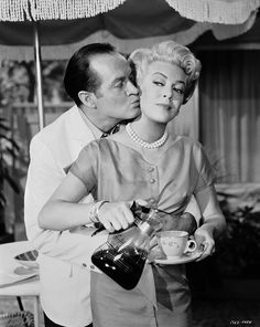 Bob Hope wants a little sugar from Lana Turner... | Warner Archive