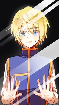 Kurapika ~Hunter X Hunter I remember getting really confused in kurapikas gender