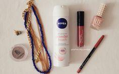 Gözde'nin Blog Günlüğü: Hızlı Kuruyan Nivea Powder Touch Deodorant #nivea #niveadeodorant #deodorant #blog #kişiselbakım #bakım #blogger #gozdeninevinden #gozdeninbloggunlugu