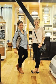 Just some super stylish gals I know :) via Modest Fashion Style Blog | Modest Outfits | Clothed Much