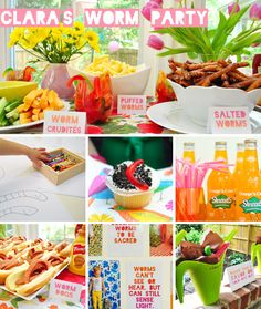 Use some of these ideas for a gardening/worm party for Lil Clara's Worm Themed Second Birthday Party | Young House Love