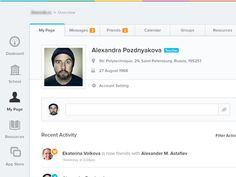 50 Intuitive Dashboard UI Designs – Web & Graphic Design on Bashooka Web Dashboard, Ui Web, Dashboard Design, Ui Design Inspiration, Design Trends, Homepage Design, Web Design, Graphic Design, Tabs Ui