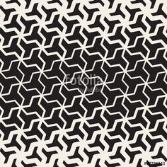 Vector: Vector Seamless Black And White  Geometric Triangle Shape Tessellation Halftone Line Grid Pattern