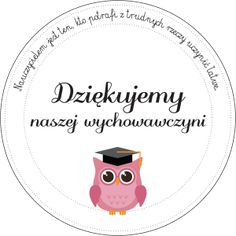 Darmowe digi stemple z podziękowaniami dla wychowawczyni na koniec roku Quilling, Decoupage, Crafts For Kids, Preschool, Greeting Cards, Clip Art, Printables, Stamp, Techno