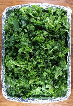 Garlic Roasted Kale Recipe - Jeanette's Healthy Living
