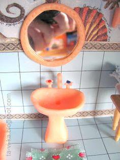 кукольная ванная