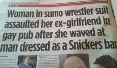 In the race for the best headline ever: this contender.
