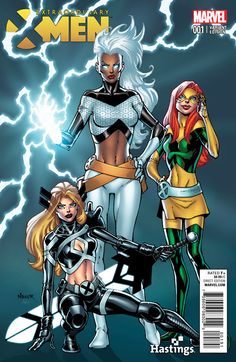 Extraordinary X-Men #1 variant cover by Todd Nauck *