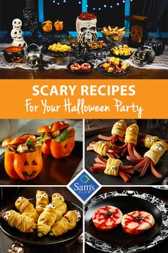 Make your house the number one stop in the neighborhood by treating your guests to these fun and festive Halloween snacks. Crispy Chicken Salad Pumpkins, Halloween Hot Dog Creatures, Jalapeno Popper Mummies and Pizza Patty Eyes will have them coming back all night long! Stop be Sam's Club and grab what you need to make this the best Halloween yet!