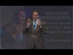 ▶ The Productivity Secrets of Superachievers - YouTube Must watch this. Make clear your goal. Thanks so much to Darren Hardy more about Darren Hardy go to http://darrenhardy.success.com/2000/04/exclusive-presentation/
