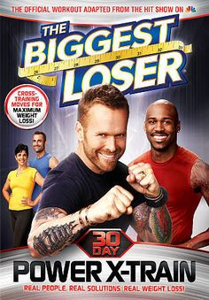 The Biggest Loser Power X-Train DVD.  Picture: eBay affiliate link.
