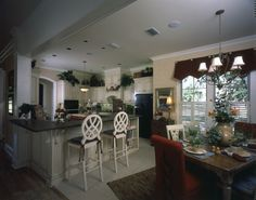 Open kitchen design in Plan 024D-0060 | House Plans and More