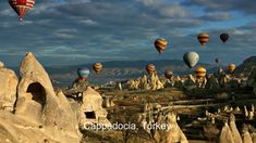 Hot Air Balloon Tours in Cappadocia Hidden Places, Strange Places, Secret Places, Turkey Country, Japan Spring, Cappadocia, Camping And Hiking, Road Trippin, Trip Advisor