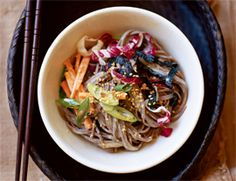 Soba Salad with Miso Vinaigrette | Vegetarian Times
