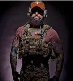 Operator Beards! Tactical Beards!