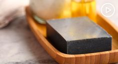 Deep-Clean, Exfoliate, and Detox Your Skin With This DIY Activated Charcoal Soap Activated Charcoal Capsules, Activated Charcoal Soap, Homemade Beauty, Diy Beauty, Beauty Care, Beauty Tips, Beauty Stuff, Tea Tree Essential Oil, Essential Oils