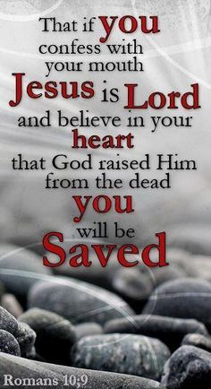 Jesus Christ is Lord:Romans (Jehovah God resurrected his Son Jesus. Jesus Did Not resurrect himself. he died! If Jesus didnt really die (True death) the Ransom would not be Valid~ Scripture Verses, Bible Verses Quotes, Bible Scriptures, Faith Quotes, Lord And Savior, God Jesus, Religious Quotes, Spiritual Quotes, Images Bible