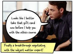 Articulate Rapid E-Learning Blog - how to work with subject matter experts when building online training