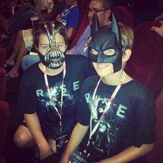 Batman Jr. and Bane Jr.