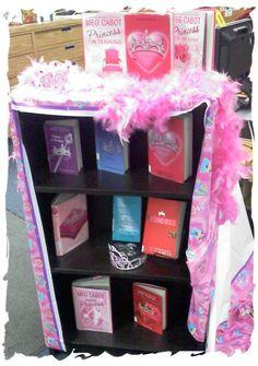 Library Displays: Princess Diaries