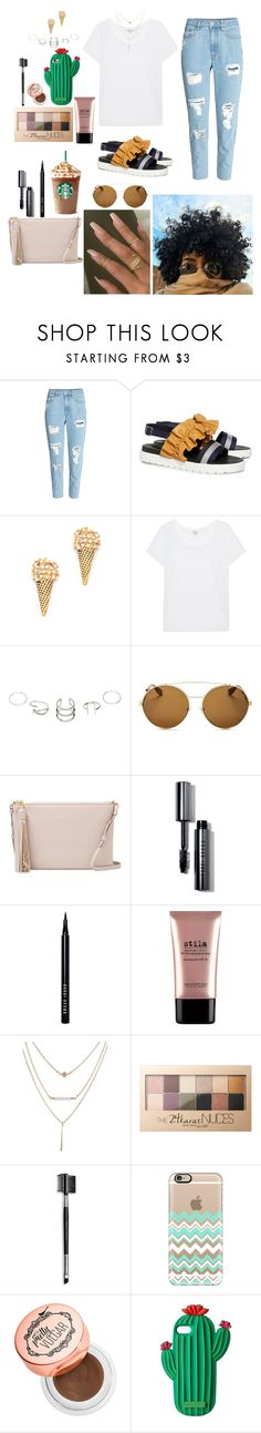 """""""Untitled #738"""" by qwert123456 ❤ liked on Polyvore featuring H&M, Mother of Pearl, Marc Jacobs, Splendid, Givenchy, Yves Saint Laurent, Bobbi Brown Cosmetics, Stila, Maybelline and Mary Kay"""