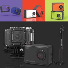 ON SALE with Free Selfie Stick - The Activeon CX Action Cam records with Full HD resolution at 30fps. It features built-in Wi-Fi and is waterproof up to 196 feet with the included waterproof housing. This bundle comes with a free selfie stick, capture selfies with your friends or panoramic nature shots from the perfect angle.  #ACTIVEON #selfiestick #ActionCam #photography #Camera #digital #Deals #photo #Cameras #sale