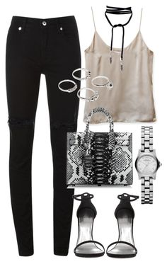 """""""Sans titre #2885"""" by christina95styles ❤ liked on Polyvore featuring McQ by Alexander McQueen, Yves Saint Laurent, Lauren Klassen and Marc by Marc Jacobs"""