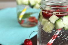 Cherry, Cucumber, and Mint