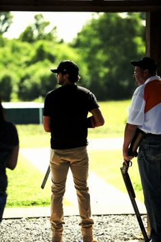 I can never say how much I Luke Bryan! Country, sexy, and a shooter? He has it all! :D