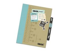 Essential Travel Gear for Family Vacations: Smash Book is a hybrid between a travel journal and scrapbook
