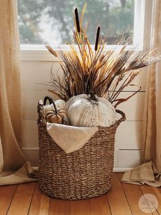 Diy Home Decor Rustic, Fall Home Decor, Autumn Home, Farmhouse Decor, Autumn Fall, Modern Farmhouse, Farmhouse Style, Décor Boho, Beautiful Textures